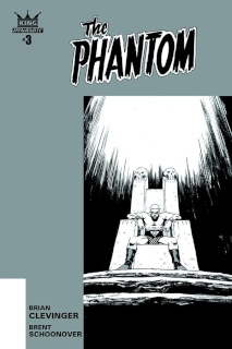 The Phantom #3 (10 Copy Shalvey B&W Cover)