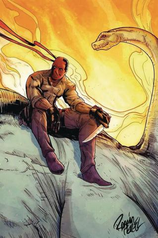 Red Range: Pirates of Fireworld #1 (Ramon Perez Cover)