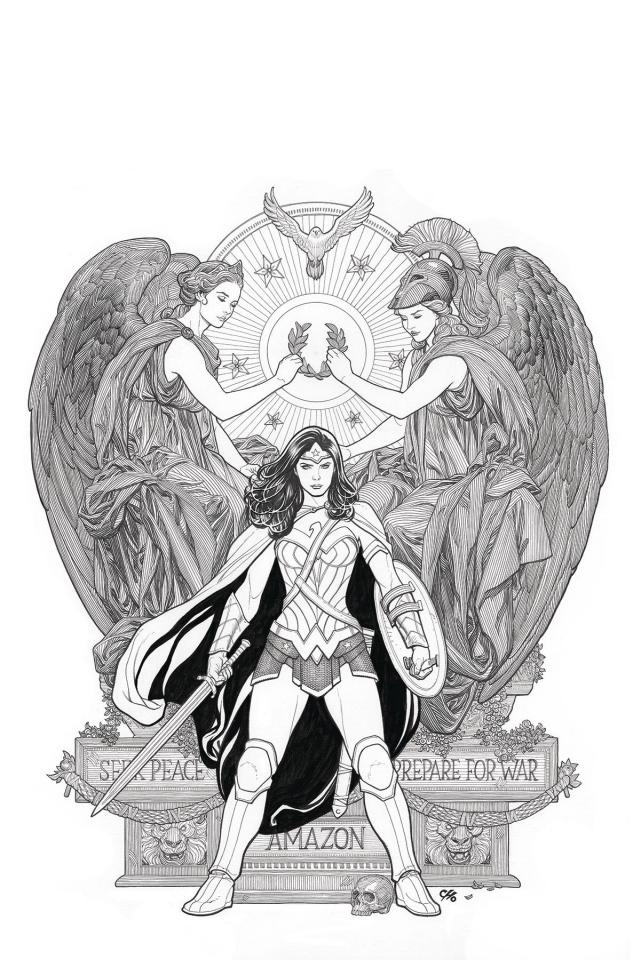 DC Poster Portfolio: Frank Cho