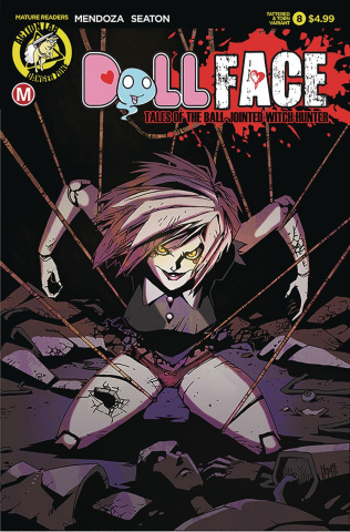Dollface #8 (Maccagni Pin Up Tattered & Torn Cover)