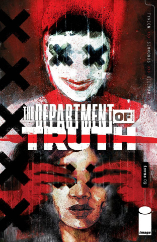 The Department of Truth #9 (Simmonds Cover)