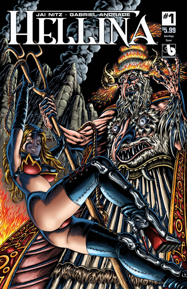 Hellina #1 (Sacrilege Cover)