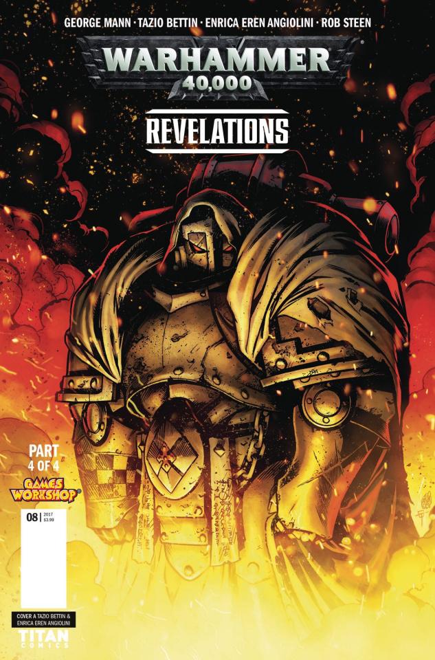 Warhammer 40,000: Revelations #4 (Bettin Cover)