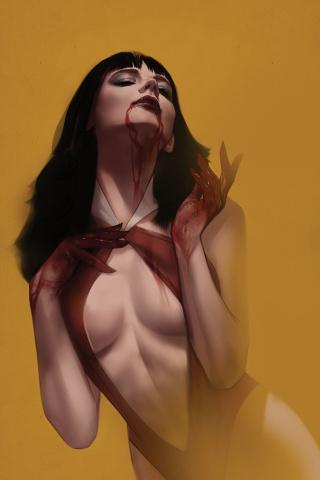 Vengeance of Vampirella #4 (Oliver Virgin Cover)