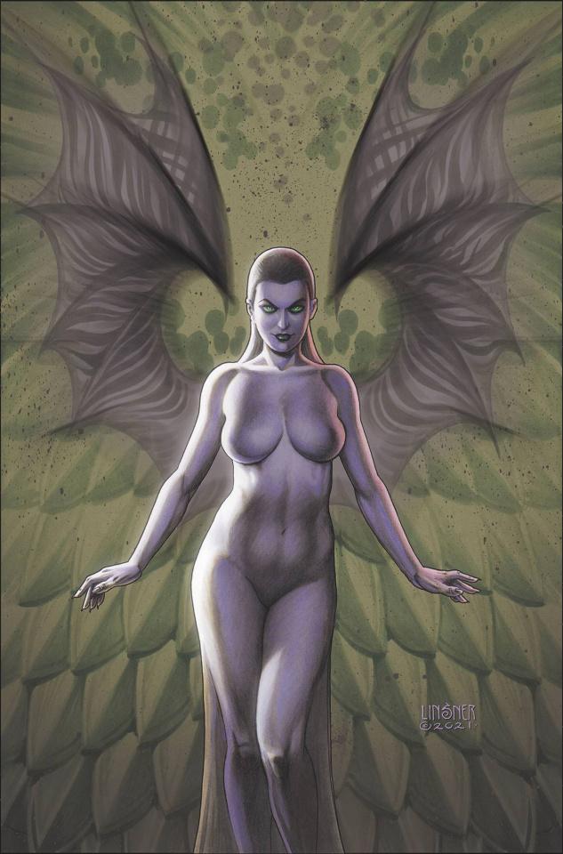 Chasing the Dragon #1 (10 Copy Linsner Virgin 2nd Printing)
