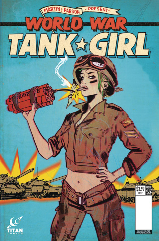 Tank Girl: World War Tank Girl #2 (Lotay Cover)