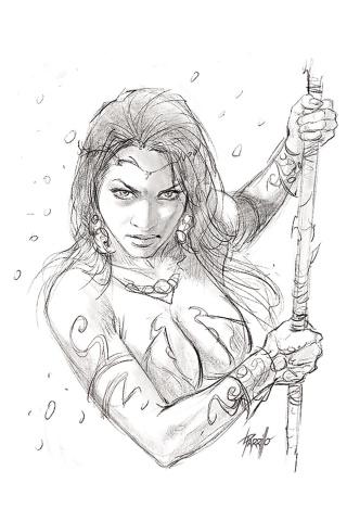 Dejah Thoris #1 (40 Copy Parrillo Pencil Cover)
