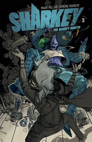 Sharkey, The Bounty Hunter #3 (Bianchi Cover)