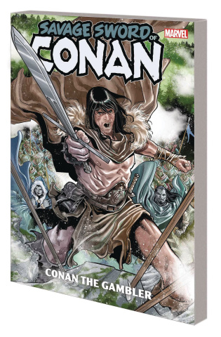The Savage Sword of Conan: Conan the Gambler