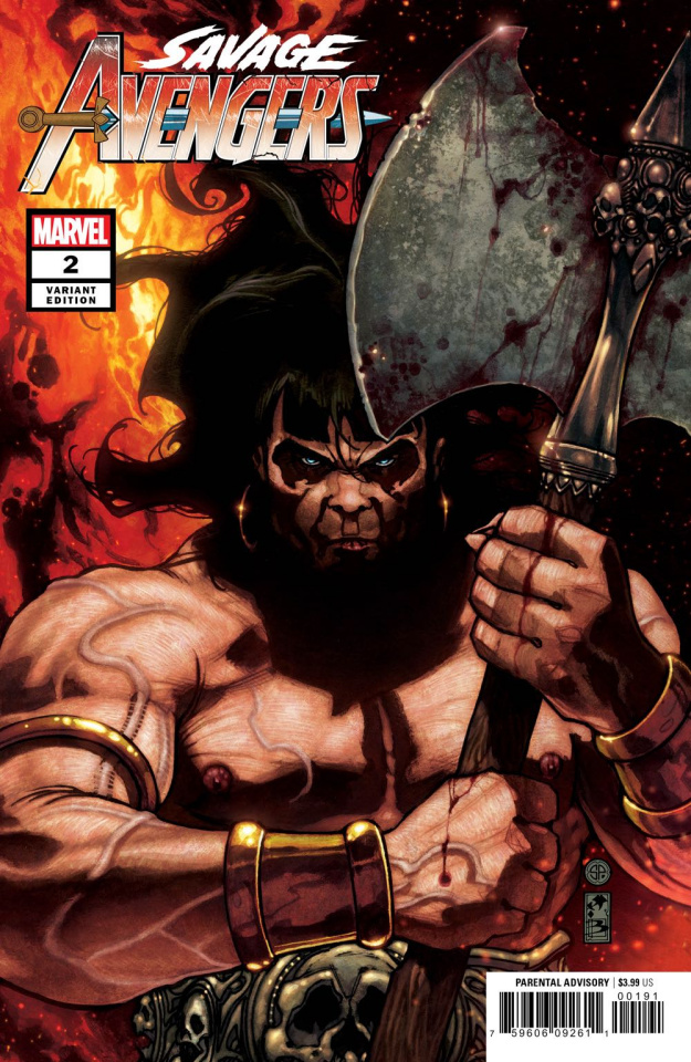 Savage Avengers #2 (Bianchi Cover)