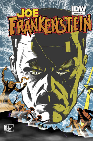 Joe Frankenstein #3 (Subscription Cover)