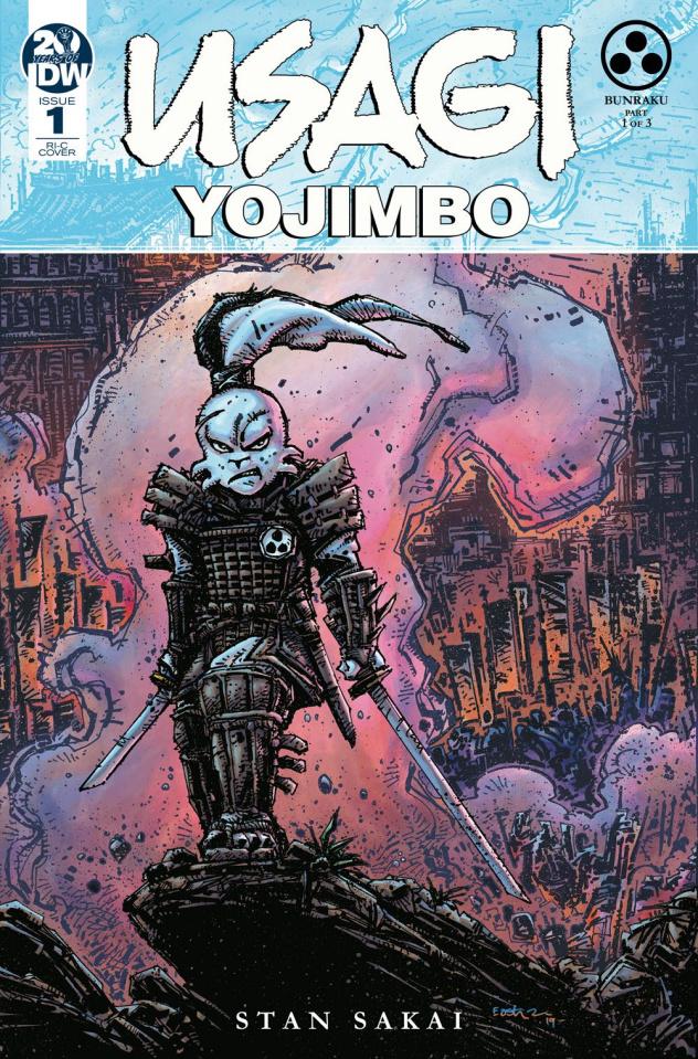 Usagi Yojimbo #1 (50 Copy Eastman Cover)