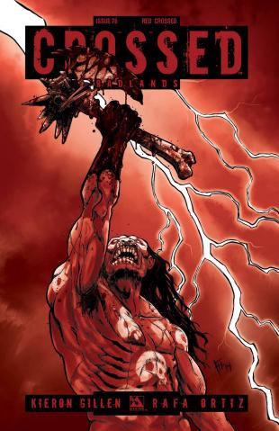 Crossed: Badlands #76 (Red Crossed Cover)