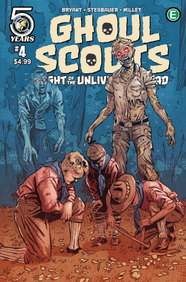 Ghoul Scouts: Night of the Unliving Undead #4 (Schoonover Cover)