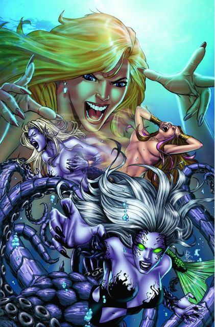 Grimm Fairy Tales: Myths & Legends #11 (Spay Cover)