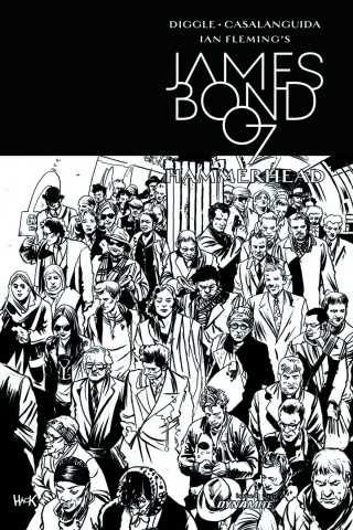 James Bond: Hammerhead #1 (10 Copy Hack Cover)