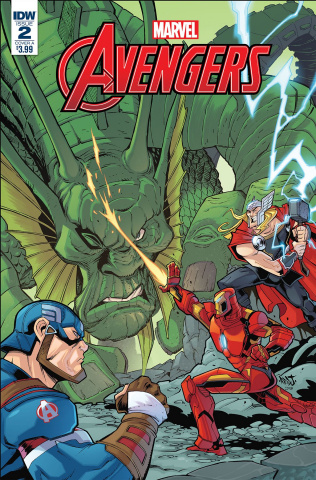 Marvel Action: Avengers #2 (Sommariva Cover)