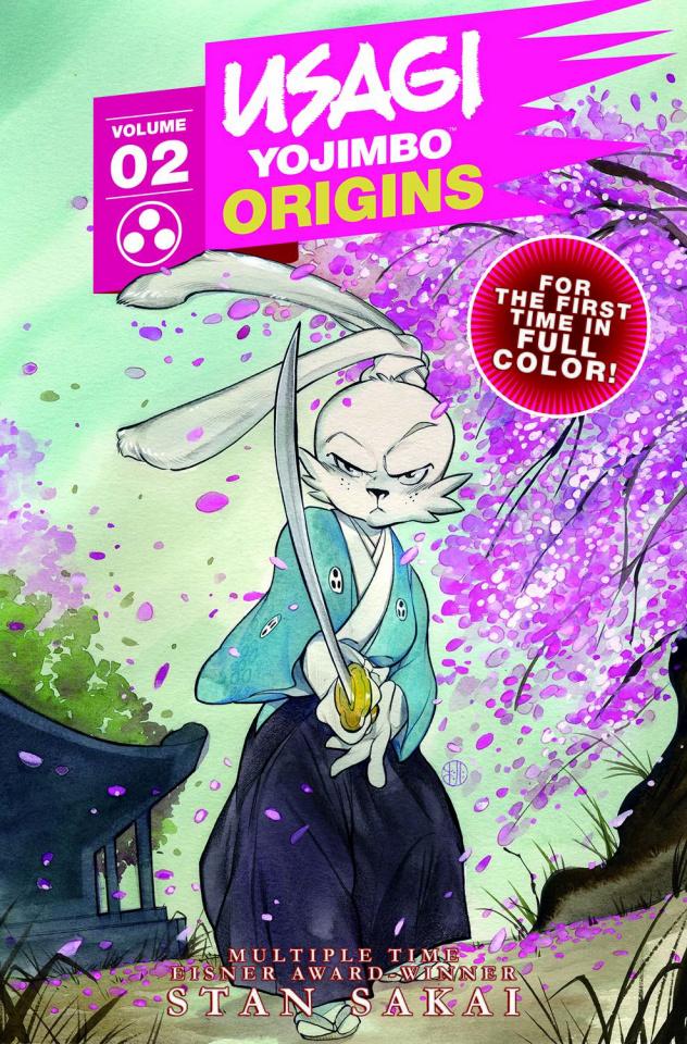 Usagi Yojimbo Origins Vol. 2: Wanderer's Road