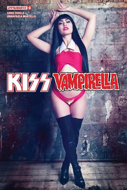 KISS / Vampirella #3 (Cosplay Cover)