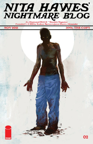 Nita Hawes' Nightmare Blog #2 (Alexander Cover)