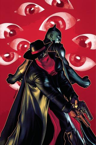 The Shadow / Batman #5 (40 Copy Peterson Cover)
