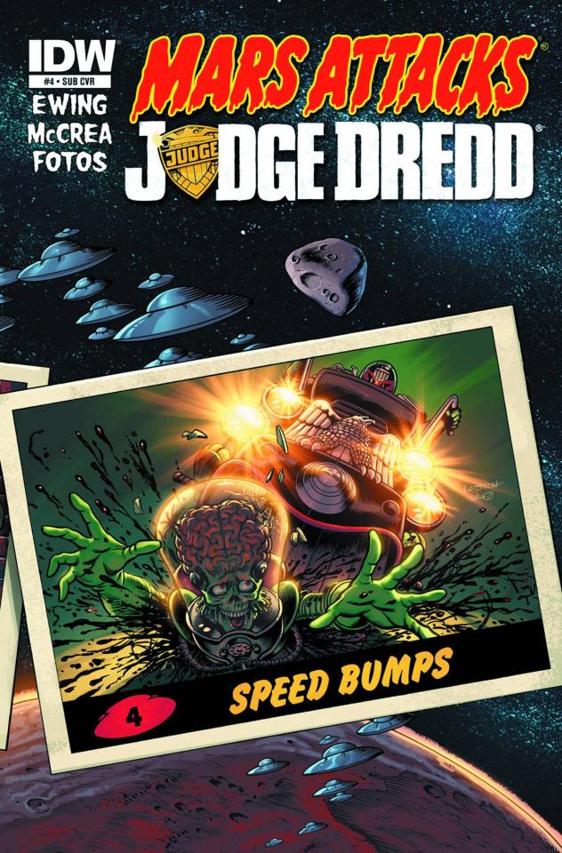 Mars Attacks Judge Dredd #4 (Subscription Cover)
