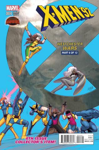 X-Men '92 #4 (Nakayama Cover)