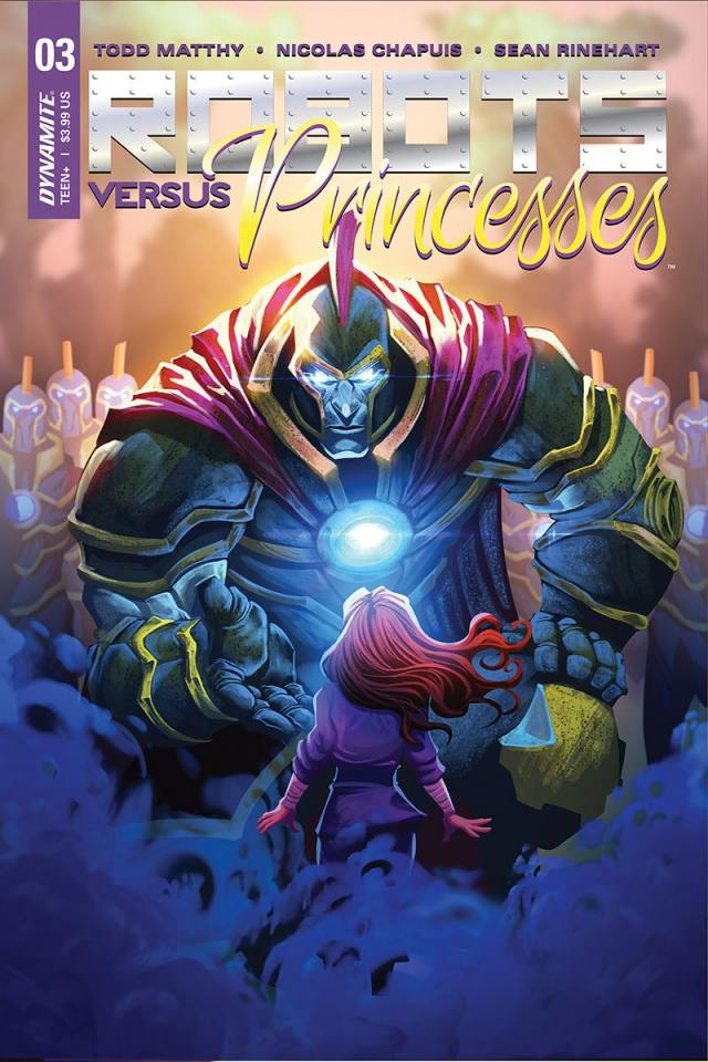 Robots vs. Princesses #3 (Chapuis Cover)