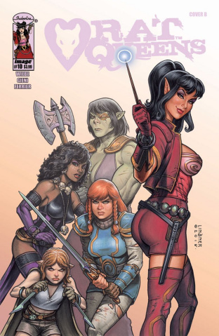 Rat Queens #10 (Linsner Cover)
