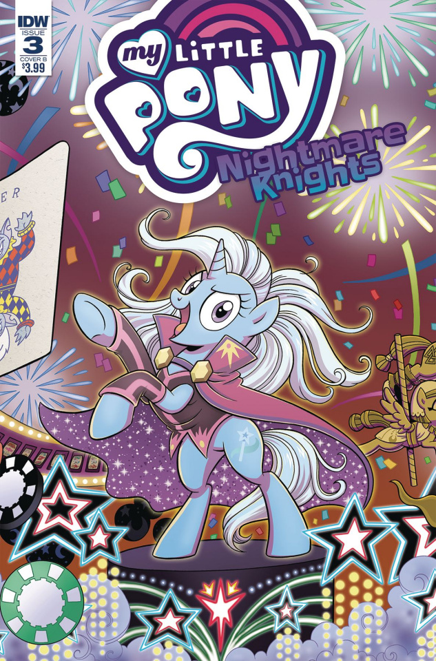 My Little Pony: Nightmare Knights #3 (Hickey Cover)