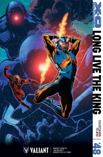 X-O Manowar #48 (Jimenez Cover)