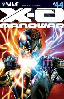 X-O Manowar #44 (Jimenez Cover)
