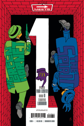 The Green Hornet '66 Meets The Spirit #1 (Pulido Cover)