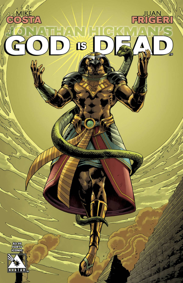 God Is Dead #40 (Iconic Cover)