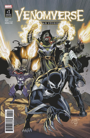 Venomverse: War Stories #1 (Lim Cover)