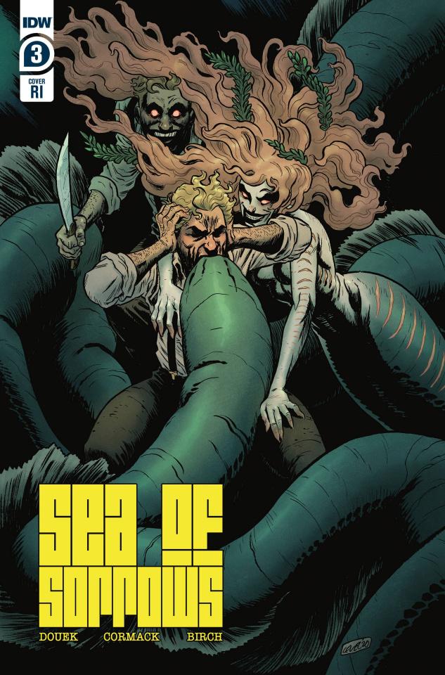 Sea of Sorrows #4 (10 Copy Brian Level Cover)