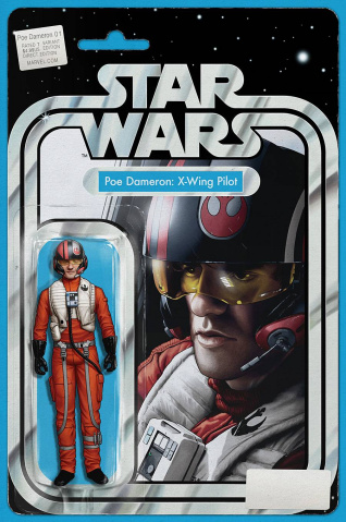 Star Wars: Poe Dameron #1 (Christopher Action Figure Cover)