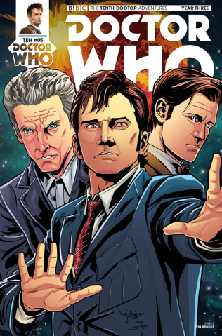Doctor Who: New Adventures with the Tenth Doctor, Year Three #5 (Alves Cover)