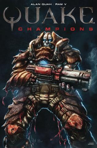 Quake: Champions #3 (Double Issue Quah Cover)