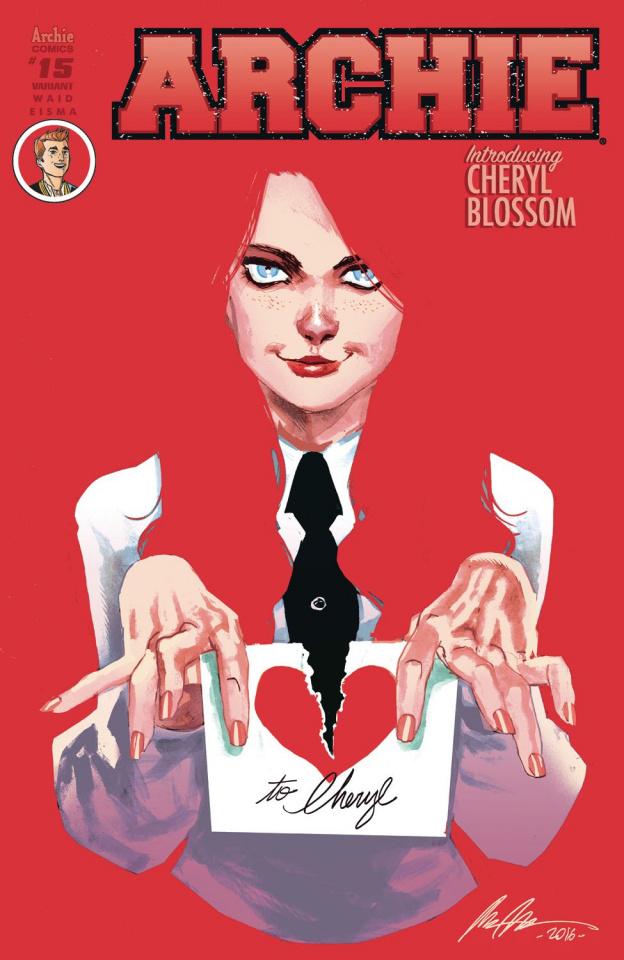Archie #15 (Rafael Albuquerque Cover)