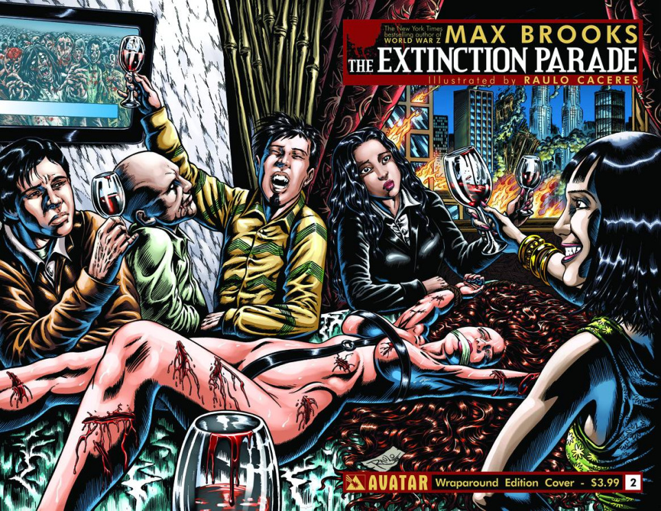 The Extinction Parade #2 (Wrap Cover)