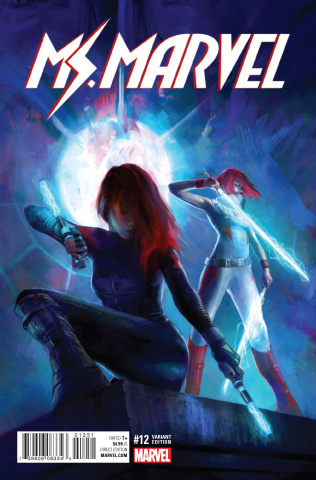 Ms. Marvel #12 (Red Widow Cover)