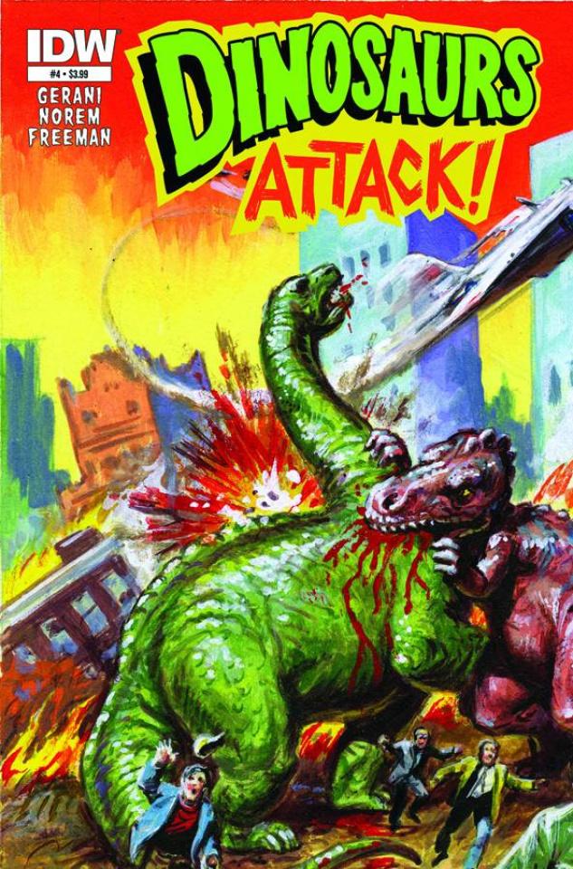 Dinosaurs Attack! #4