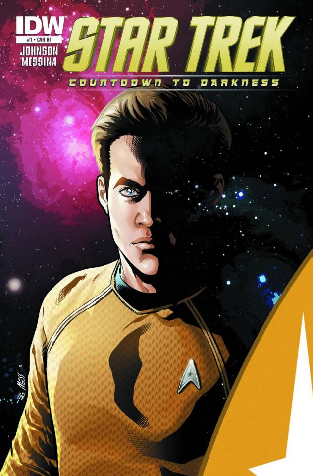 Star Trek: Countdown To Darkness #1 (Messina Cover)