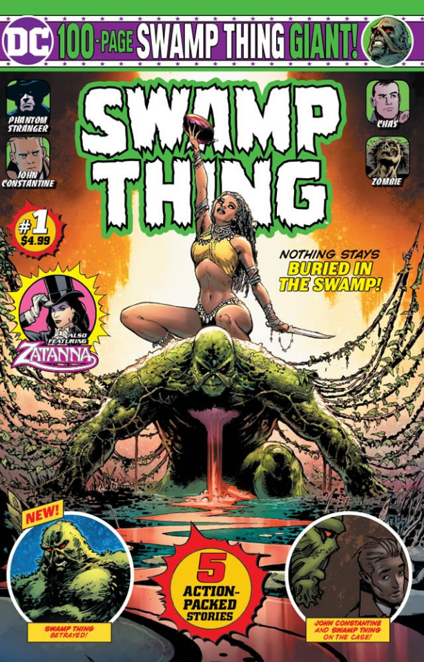 Swamp Thing Giant #1