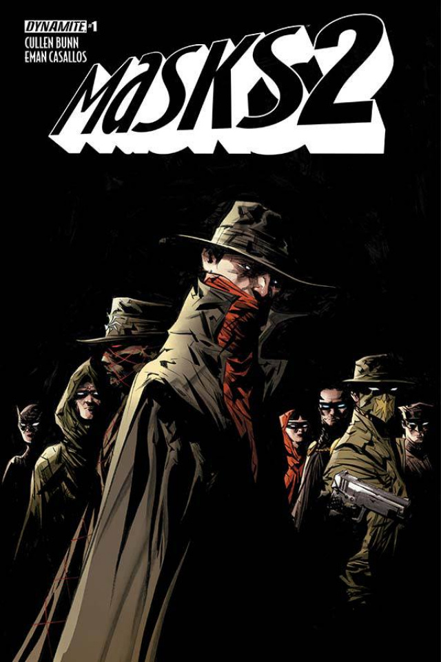 Masks 2 #1 (Lee Cover)