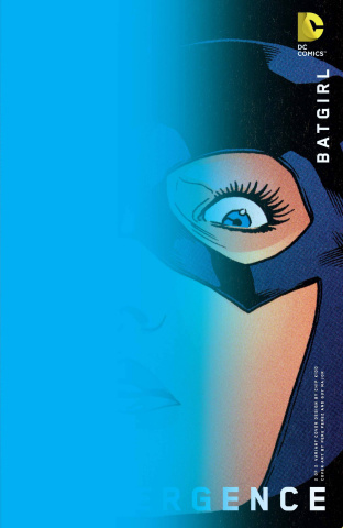 Convergence: Batgirl #2 (Chip Kidd Cover)