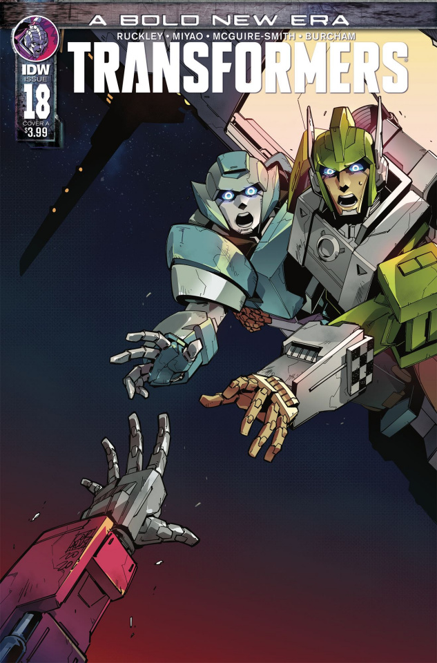 The Transformers #18 (Miyao Cover)
