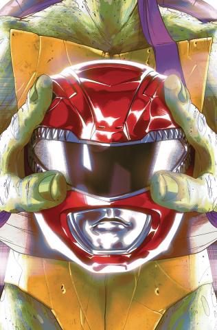Power Rangers / Teenage Mutant Ninja Turtles #1 (Montes Cover)