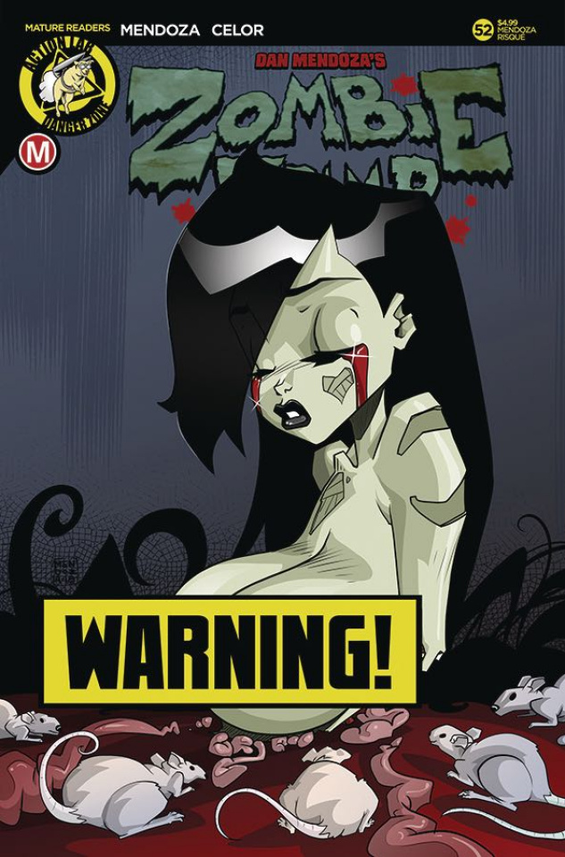 Zombie Tramp #52 (Mendoza Risque Cover)
